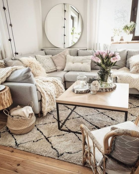 Cozy Apartment Living Room Decorating Ideas That You Need To Try 40