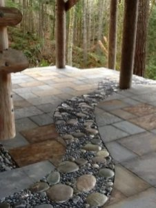 Delicate Garden Landscaping Design Ideas Using Rocks Stone To Try 23