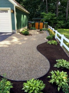 Delicate Garden Landscaping Design Ideas Using Rocks Stone To Try 29