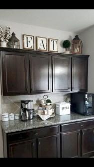 Elegant Farmhouse Kitchen Cabinet Makeover Design Ideas That Very Cozy 49