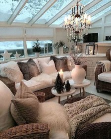 Excellent Living Room Decoration Ideas For Winter Season That Look More Cool 31