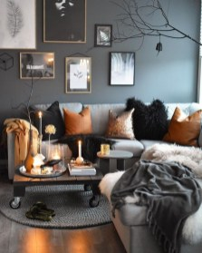 Excellent Living Room Decoration Ideas For Winter Season That Look More Cool 33