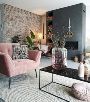 Excellent Living Room Decoration Ideas For Winter Season That Look More Cool 44