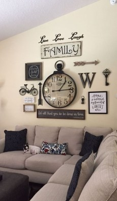 Excellent Living Room Wall Decoration Ideas That You Will Love 18