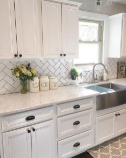 Fabulous Farmhouse Kitchen Backsplash Design Ideas To Copy 31