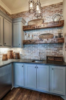 Fabulous Farmhouse Kitchen Backsplash Design Ideas To Copy 34