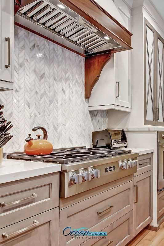 Fabulous Farmhouse Kitchen Backsplash Design Ideas To Copy 38