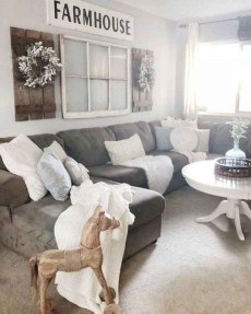 Gorgeous Farmhouse Living Room Makeover Decor Ideas To Try Asap 05