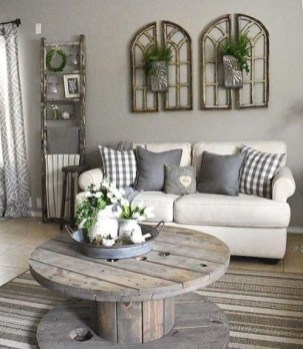 Gorgeous Farmhouse Living Room Makeover Decor Ideas To Try Asap 06