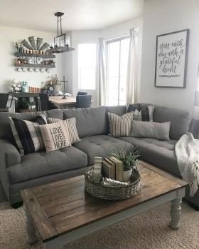 Gorgeous Farmhouse Living Room Makeover Decor Ideas To Try Asap 07