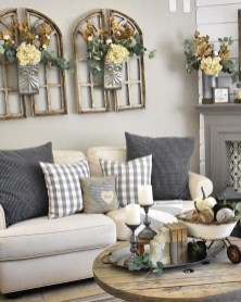 Gorgeous Farmhouse Living Room Makeover Decor Ideas To Try Asap 10