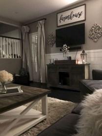 Gorgeous Farmhouse Living Room Makeover Decor Ideas To Try Asap 19
