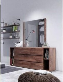 Impressive Bedroom Dressers Design Ideas With Mirrors That You Need To Try 50