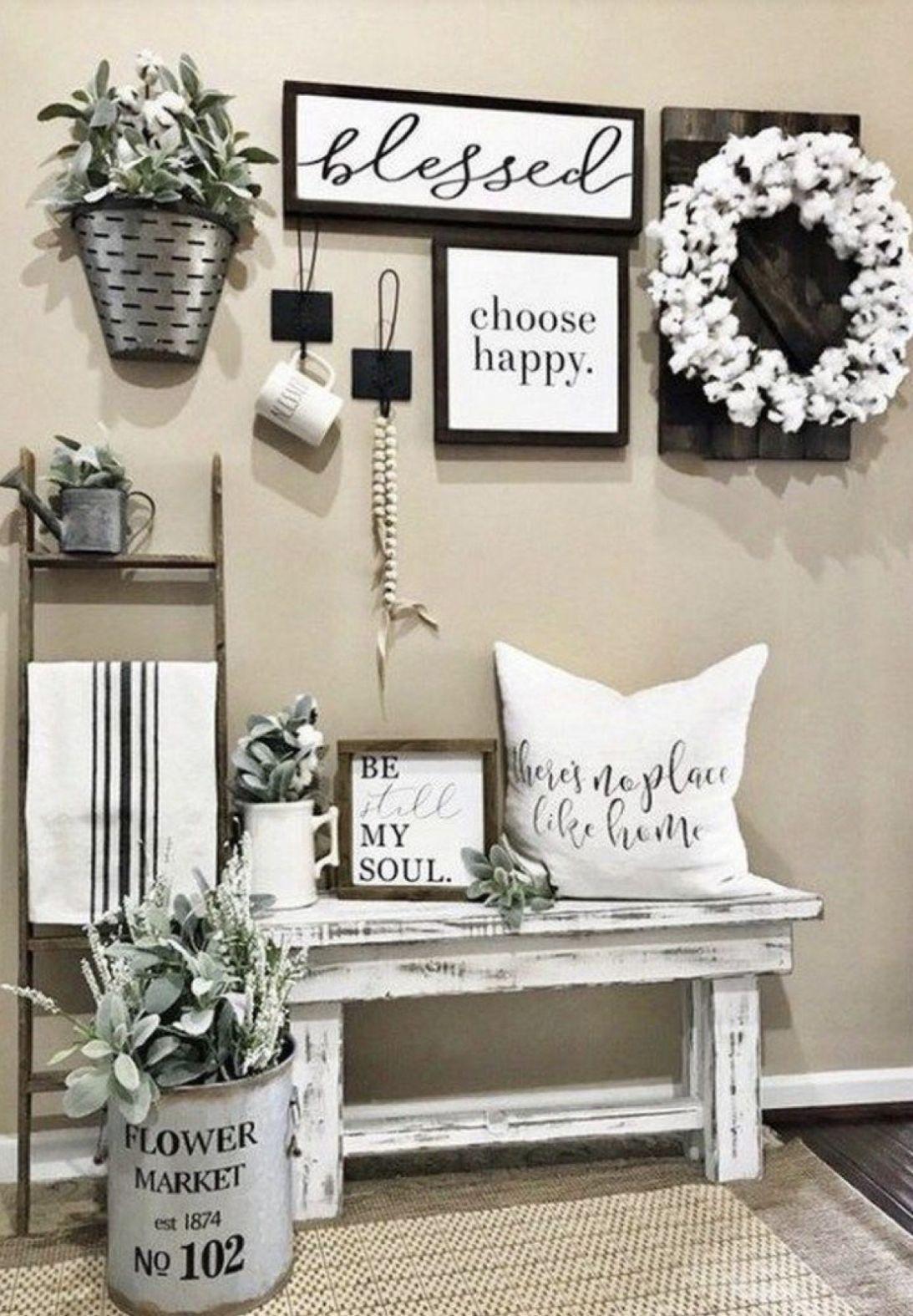 Popular Farmhouse Home Decor Ideas To Copy Asap 34