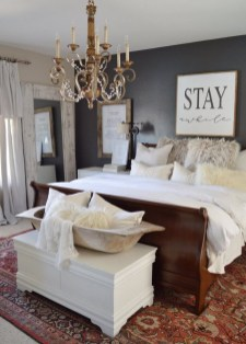 Pretty Farmhouse Master Bedroom Ideas To Try Asap 12
