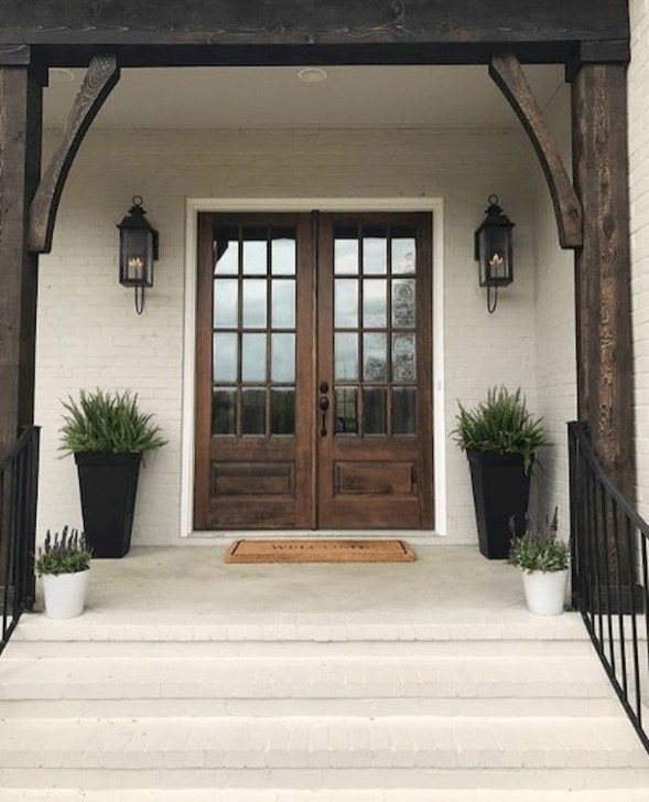 Sophisticated Home Door Designs Ideas That Are Suitable For Your Home 39