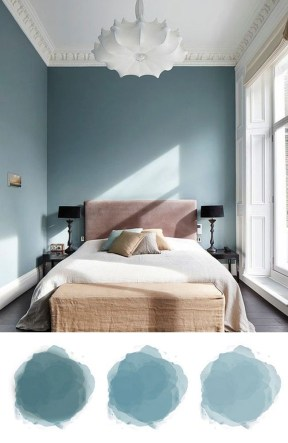 Spectacular Bedroom Paint Colors Design Ideas That Soothing To Make Your Sleep More Comfort 33