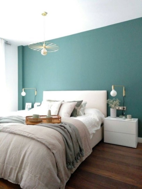 Spectacular Bedroom Paint Colors Design Ideas That Soothing To Make Your Sleep More Comfort 39