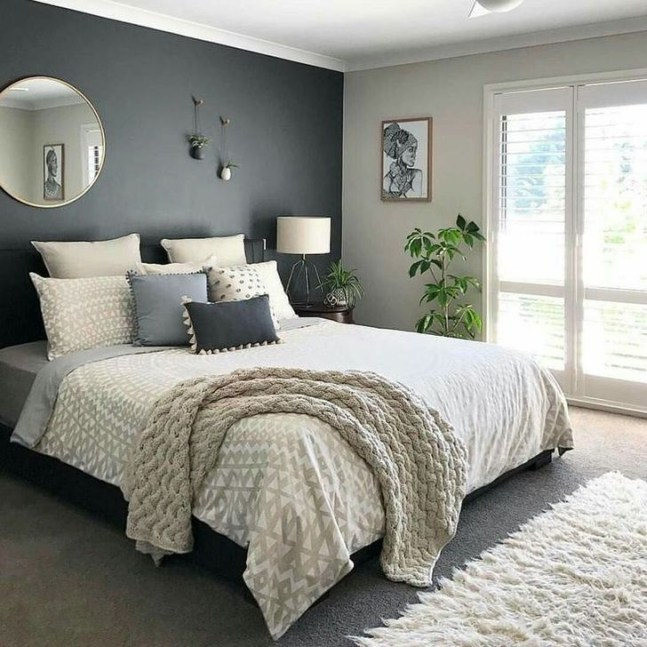 Spectacular Bedroom Paint Colors Design Ideas That Soothing To Make Your Sleep More Comfort 40