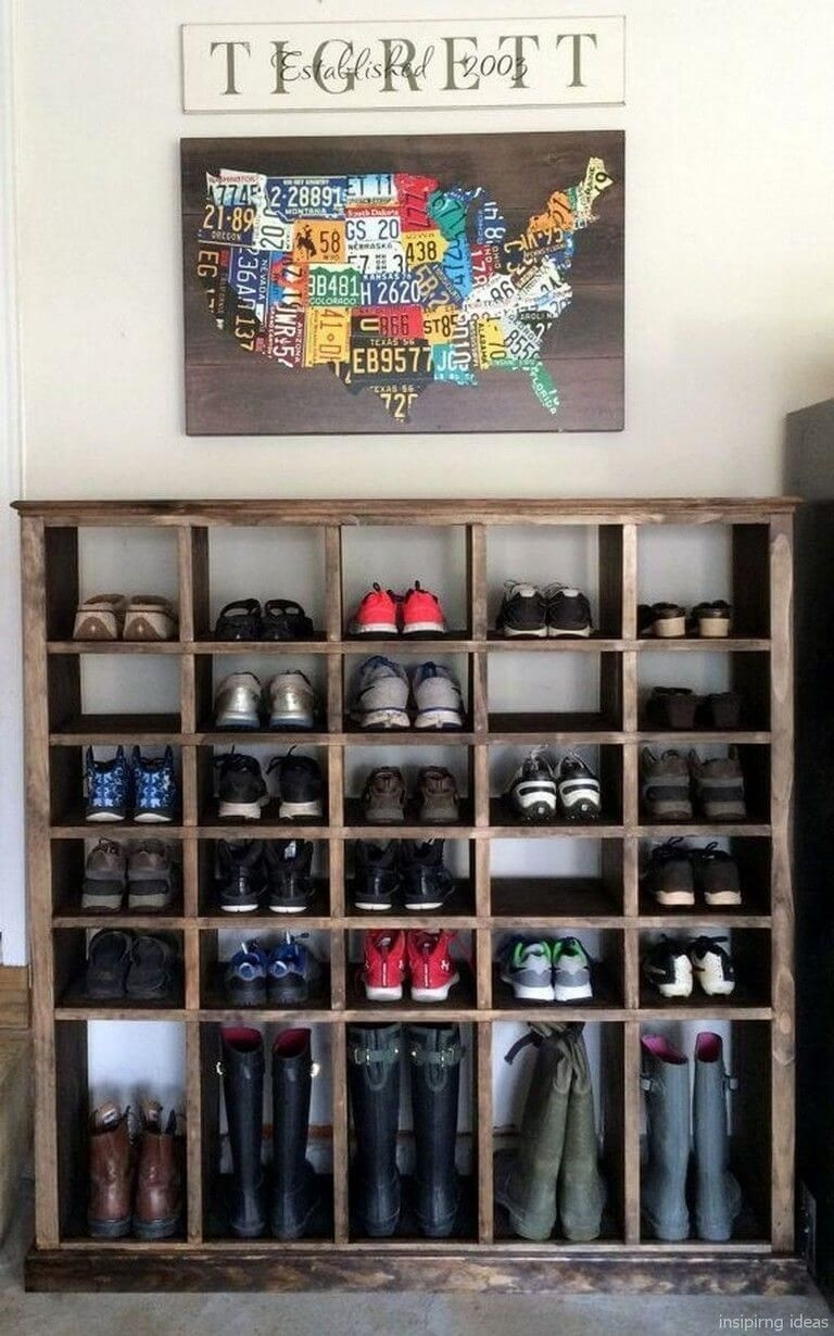 Spectacular Diy Shoe Storage Ideas For Best Home Organization To Try 30