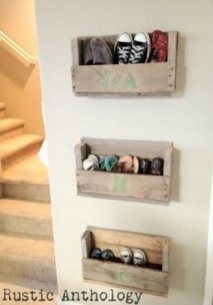 Spectacular Diy Shoe Storage Ideas For Best Home Organization To Try 48