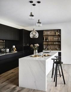 Stylish Black Kitchen Interior Design Ideas For Kitchen To Have Asap 04