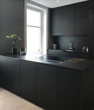 Stylish Black Kitchen Interior Design Ideas For Kitchen To Have Asap 07