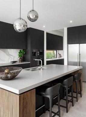 Stylish Black Kitchen Interior Design Ideas For Kitchen To Have Asap 09