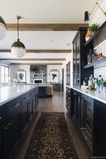 Stylish Black Kitchen Interior Design Ideas For Kitchen To Have Asap 13