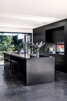 Stylish Black Kitchen Interior Design Ideas For Kitchen To Have Asap 14