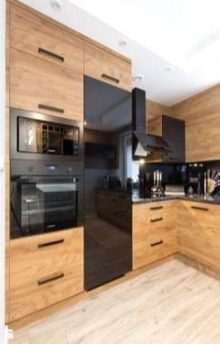 Stylish Black Kitchen Interior Design Ideas For Kitchen To Have Asap 15