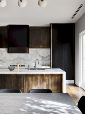 Stylish Black Kitchen Interior Design Ideas For Kitchen To Have Asap 16
