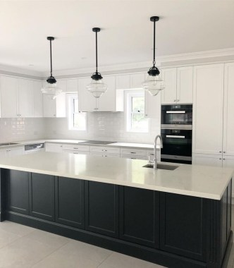 Stylish Black Kitchen Interior Design Ideas For Kitchen To Have Asap 18