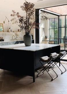 Stylish Black Kitchen Interior Design Ideas For Kitchen To Have Asap 19