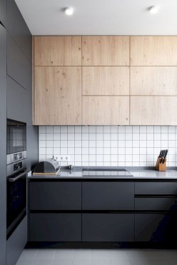 Stylish Black Kitchen Interior Design Ideas For Kitchen To Have Asap 24