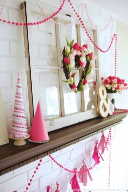Stylish Valentines Day Decoration Ideas That You Will Love It 36