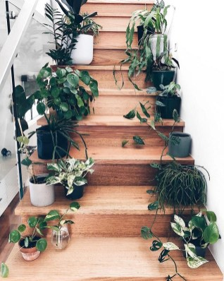 Adorable Botanical Trends Ideas To Try For Minimalist Stairs 18