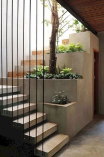 Adorable Botanical Trends Ideas To Try For Minimalist Stairs 19