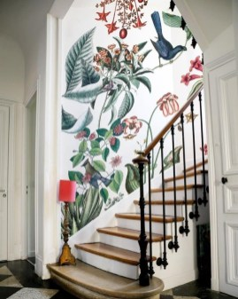 Adorable Botanical Trends Ideas To Try For Minimalist Stairs 27