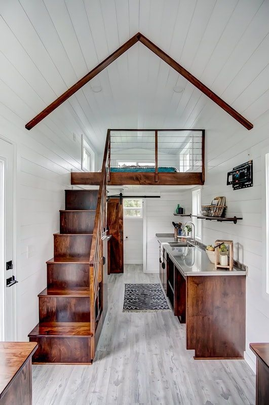Affordable Tiny House Design Ideas To Live In Nature 35