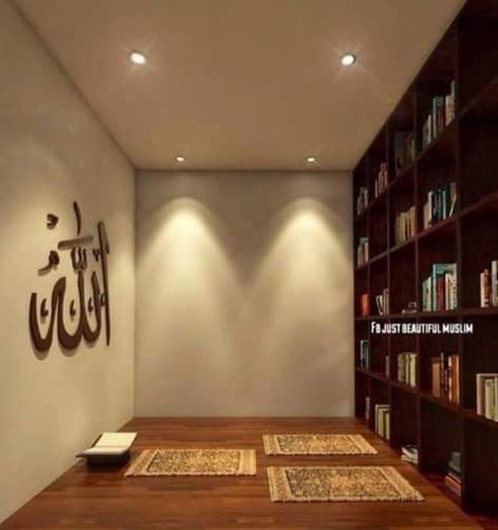Amazing Praying Room Design Ideas To Bring Your Ramadan More Beautiful 37