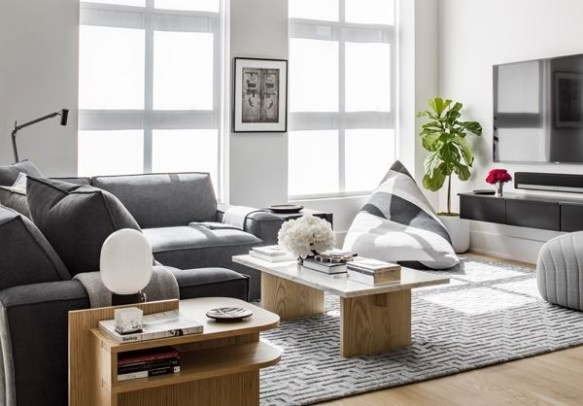 Best Noho Bachelor Loft Design Ideas With Stylish Gray Accents 31