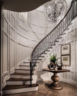 Brilliant Staircase Design Ideas For Small Saving Spaces To Try Asap 04