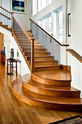 Brilliant Staircase Design Ideas For Small Saving Spaces To Try Asap 17