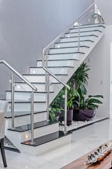 Brilliant Staircase Design Ideas For Small Saving Spaces To Try Asap 38