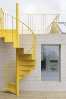 Brilliant Staircase Design Ideas For Small Saving Spaces To Try Asap 40