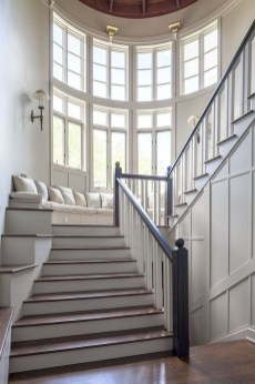 Brilliant Staircase Design Ideas For Small Saving Spaces To Try Asap 47