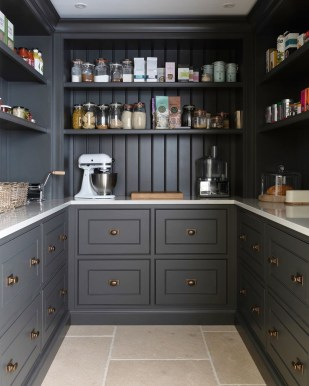 Incredible Kitchen Pantry Design Ideas To Optimize Your Small Space 07