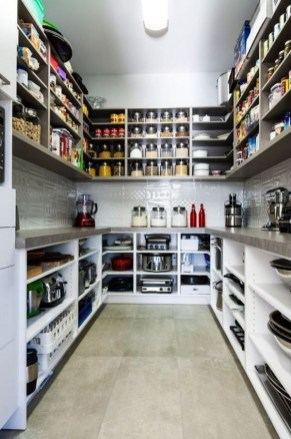 Incredible Kitchen Pantry Design Ideas To Optimize Your Small Space 26