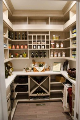 Incredible Kitchen Pantry Design Ideas To Optimize Your Small Space 44